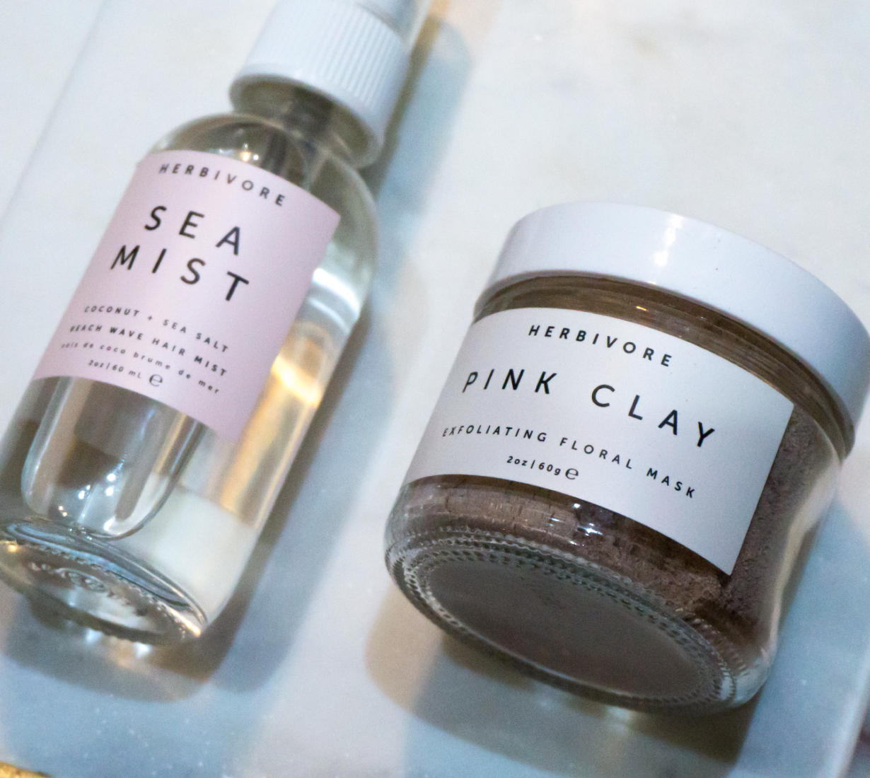 Herbivore Botanicals Sea Mist and Pink Clay Mask Review