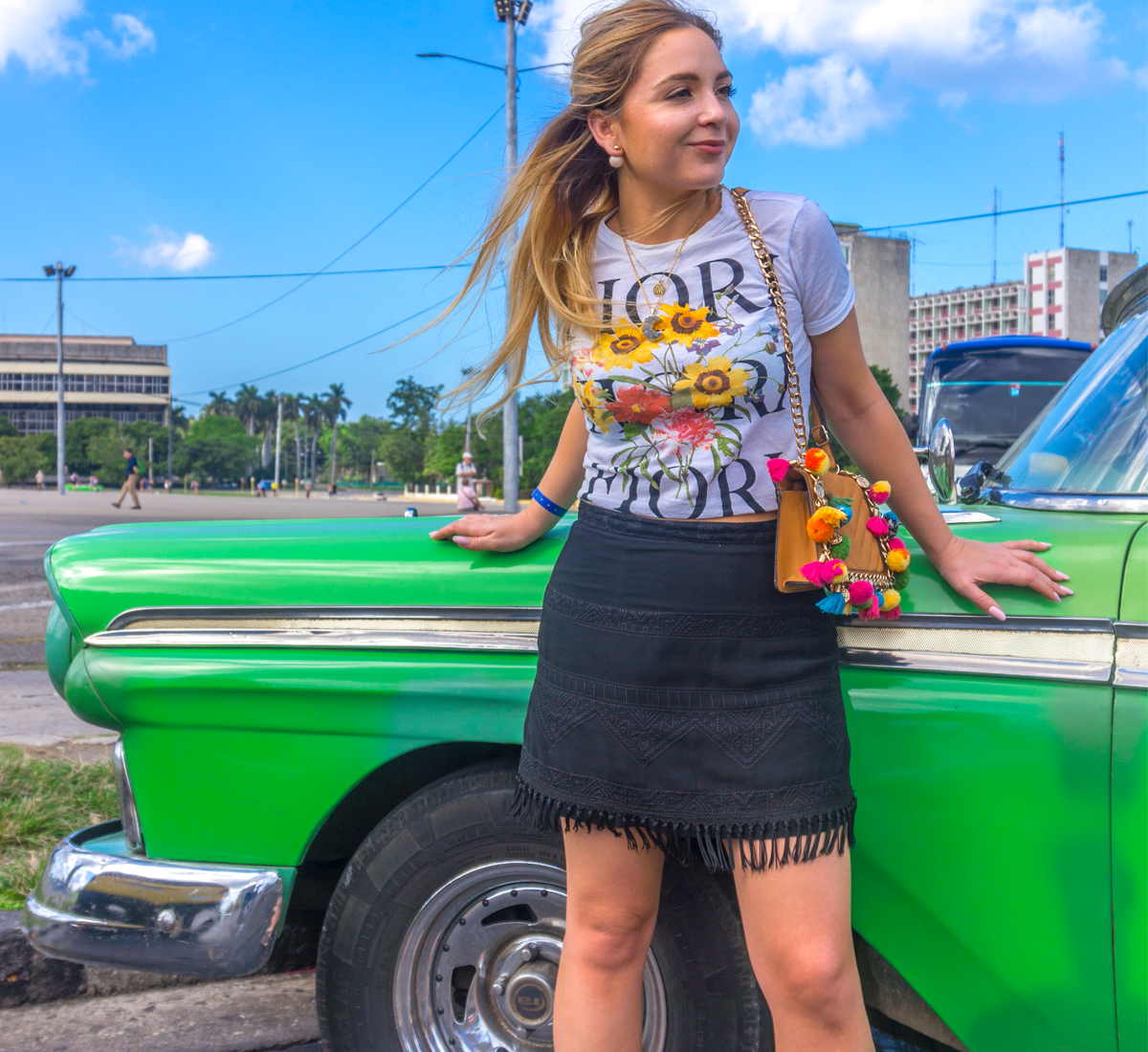 Varadero to Havana in a Bright Green Cadillac: Part I